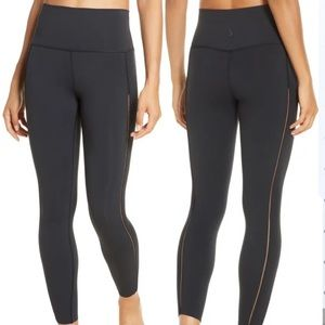 NIKE YOGALUXE INFINALON 7/8 Tights Ribbed Insets
